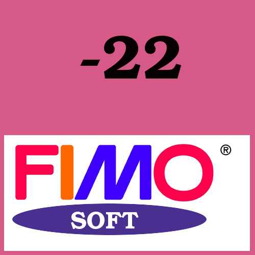 fimo soft farbe 22 himbeere. Black Bedroom Furniture Sets. Home Design Ideas